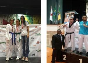 Atletas taekwondo