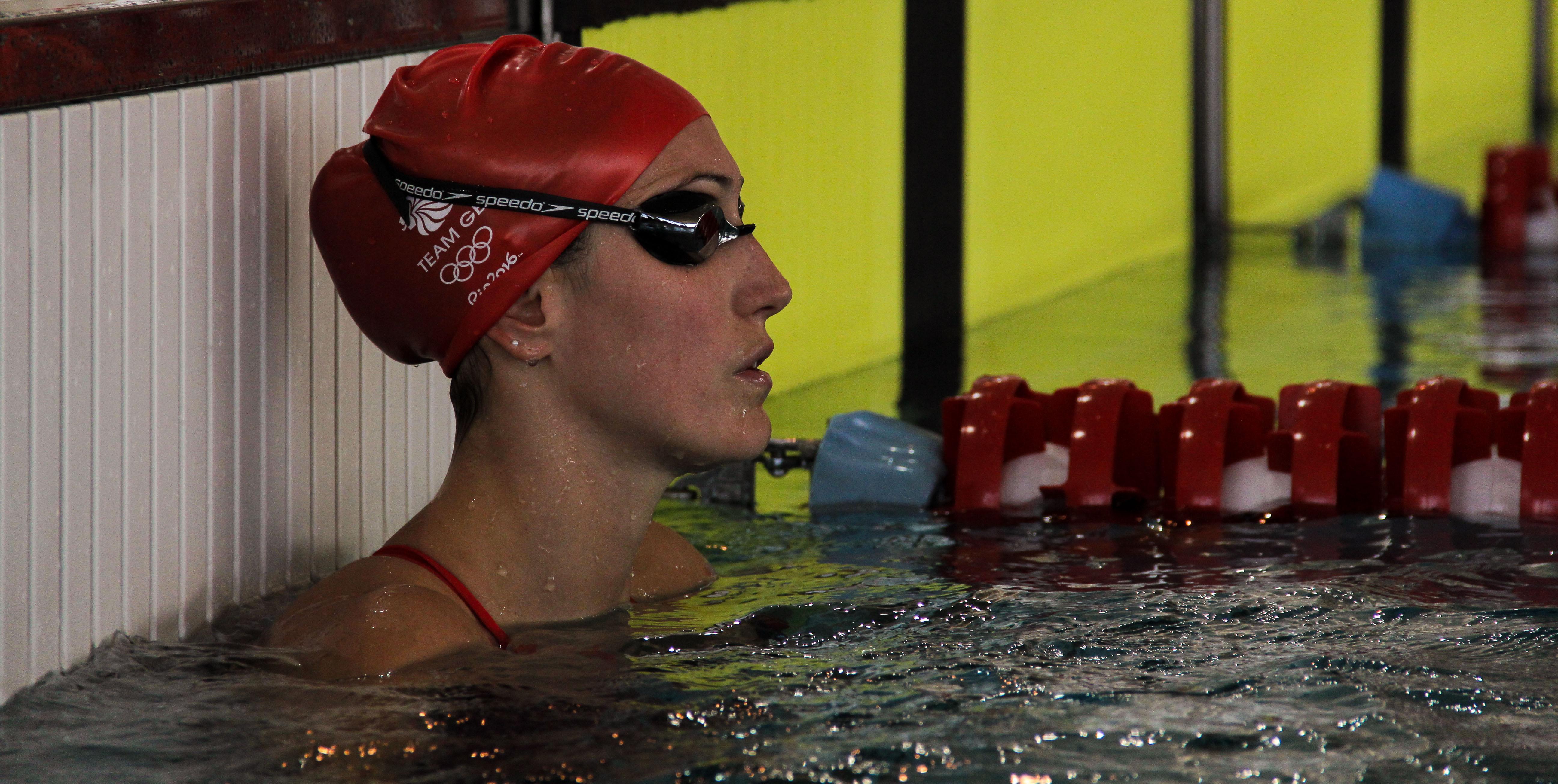 Nadadores do Team GB seguem treinando no CTE